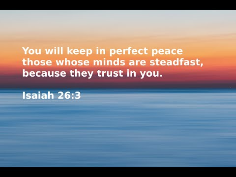 What Will Bring You Peace