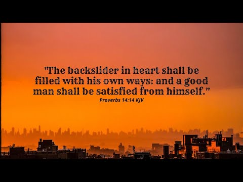 9-16-2021 The Joy Of The Lord Is Stolen By Backsliding
