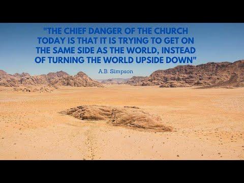 8-24-2021 You Shall Cross The Barren Desert