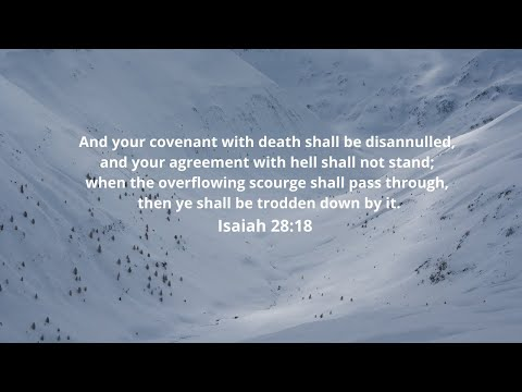 4-20-2021 - Break Your Covenant With Death!