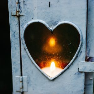 A Heart Set on Fire!